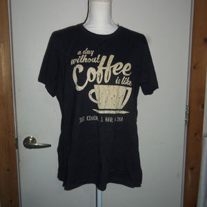 Life Without Coffee T-Shirt XL